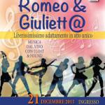 Spettacolo di Natale 2015 – Romeo & Giuliett@