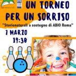 Torneo di Bowling per ABIO Roma