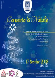 Locandina_Concerto Natale_ABIO Roma