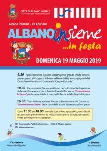 Manifesto Albano InSieme