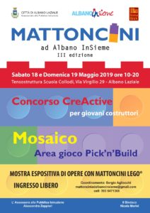 Manifesto Mattoncini ad Albano InSieme